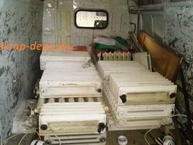 Изкупуваме чугунени радиатори в Пловдив от адрес – 0895 2222 75