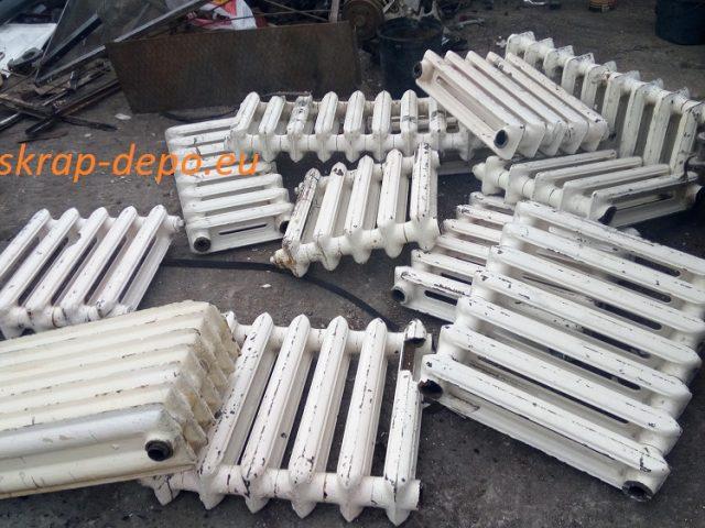 Купуваме чугунени радиатори от София – център